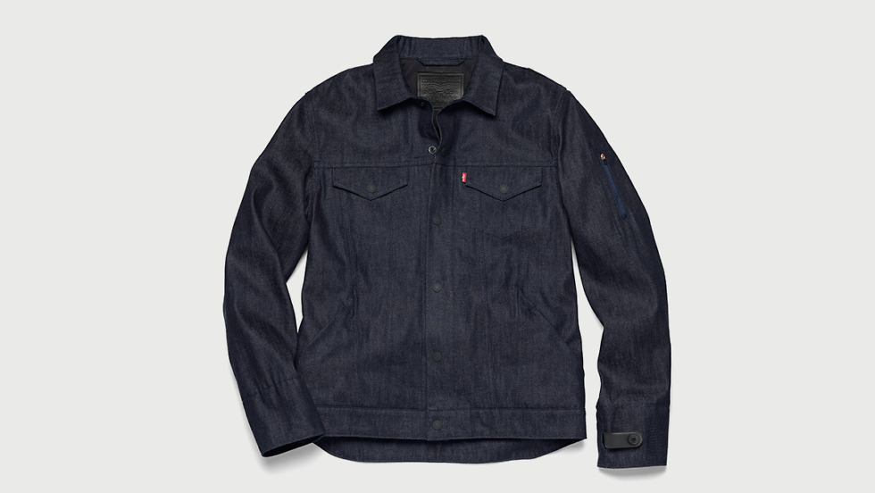 levis commuter trucker jacket jacquard