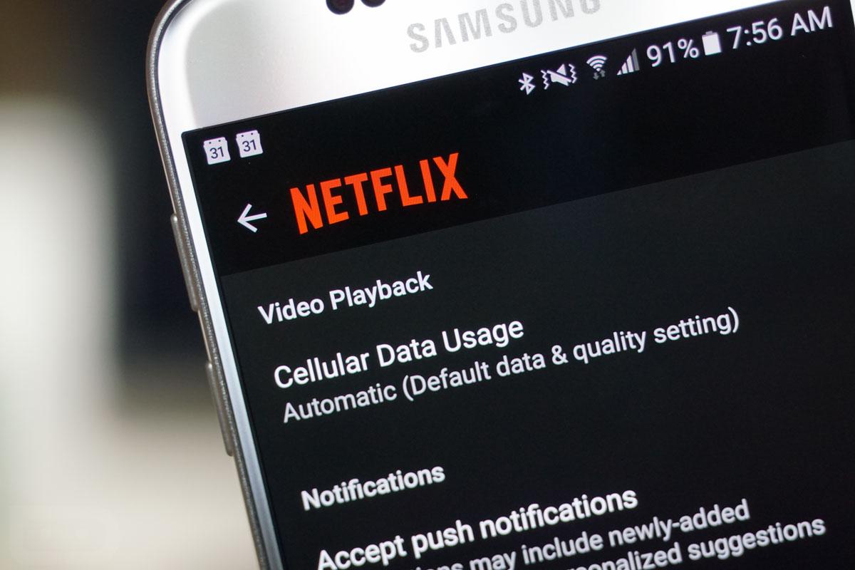 netflix cellular data