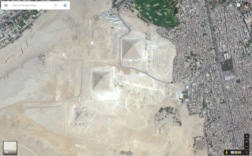 Google Earth Satellite Imagery Updated With Superior Clarity Droid - Search satellite maps