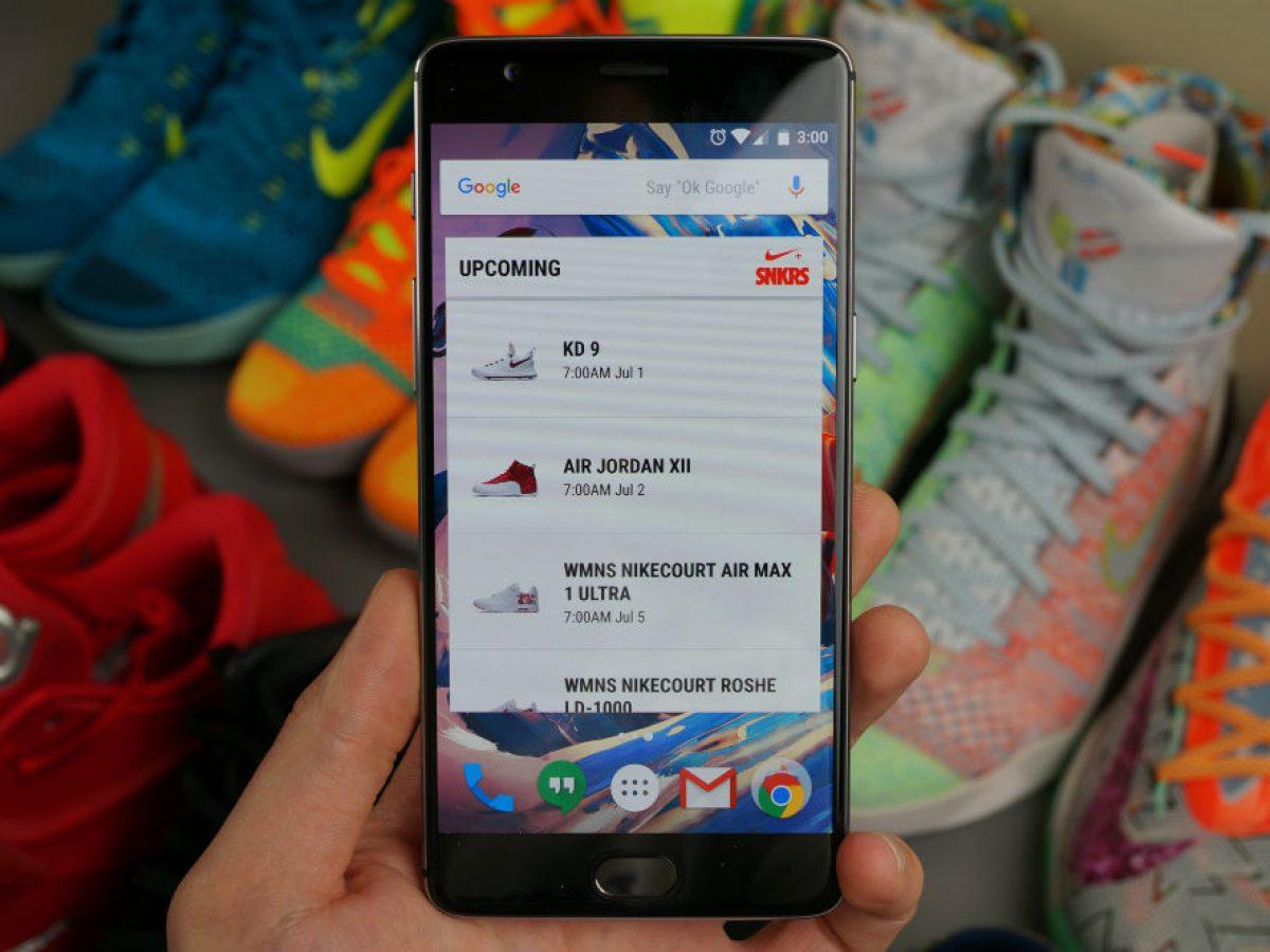 Nike SNKRS Update Brings Fingerprint
