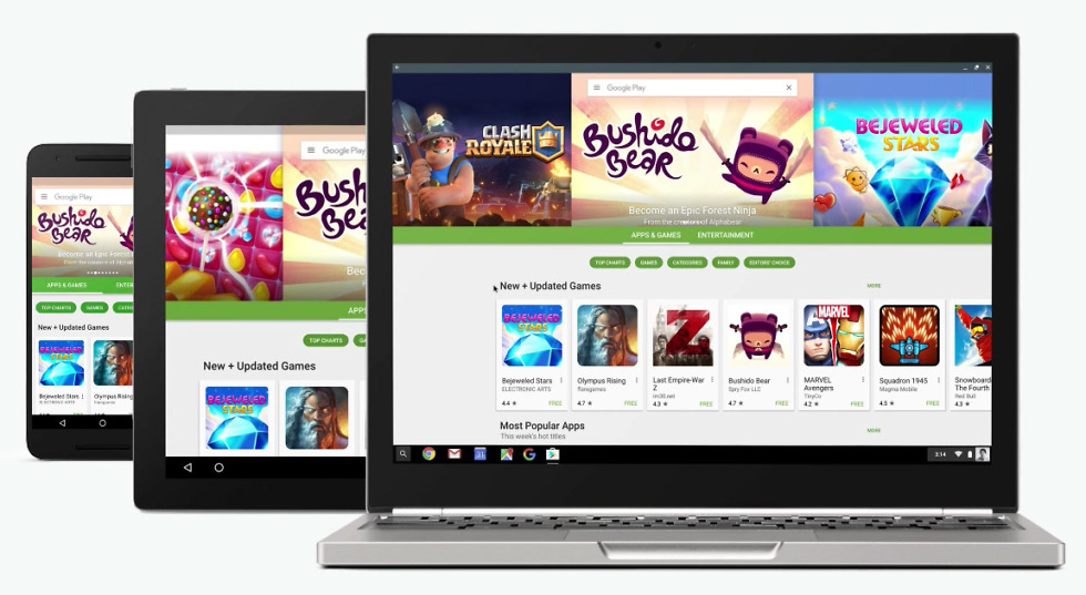 android apps chromebooks
