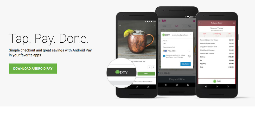 android pay promotions