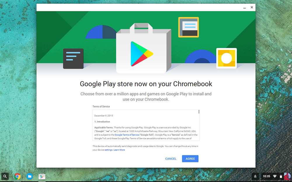google play android apps chromebooks