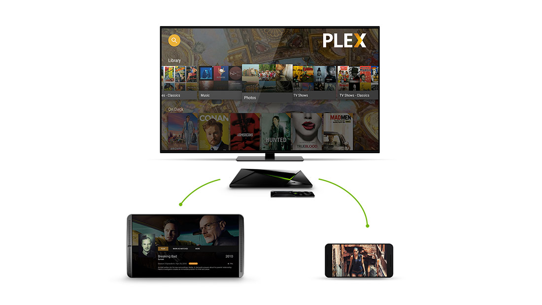 plex media nvidia shield tv