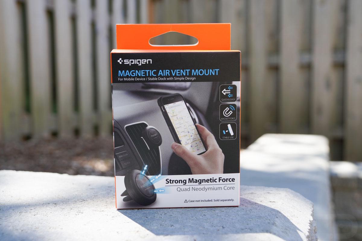 spigen magnetic air vent car mount