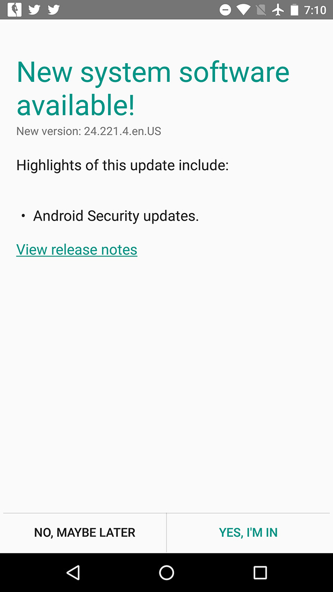 moto x pure edition update