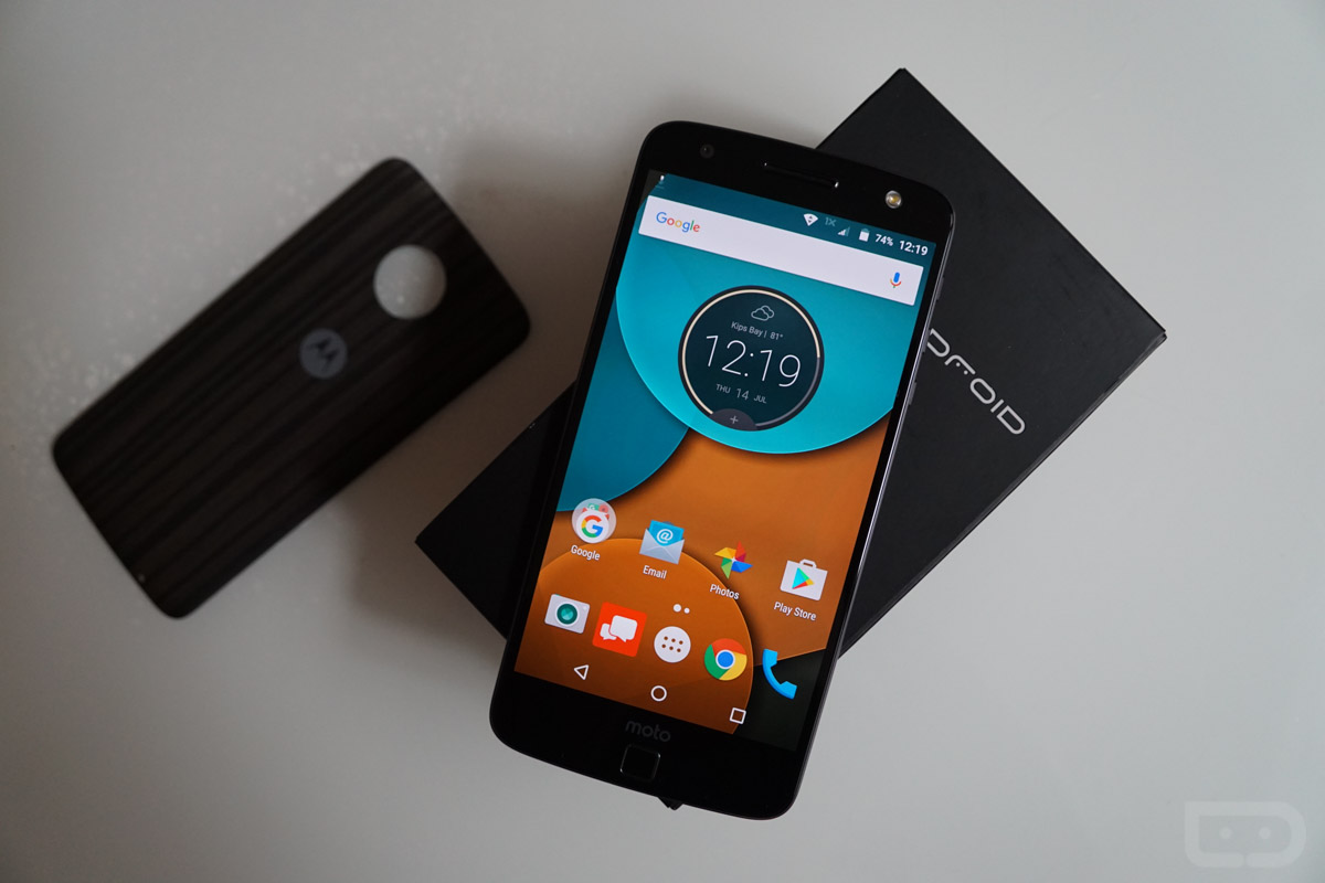 moto z droid software