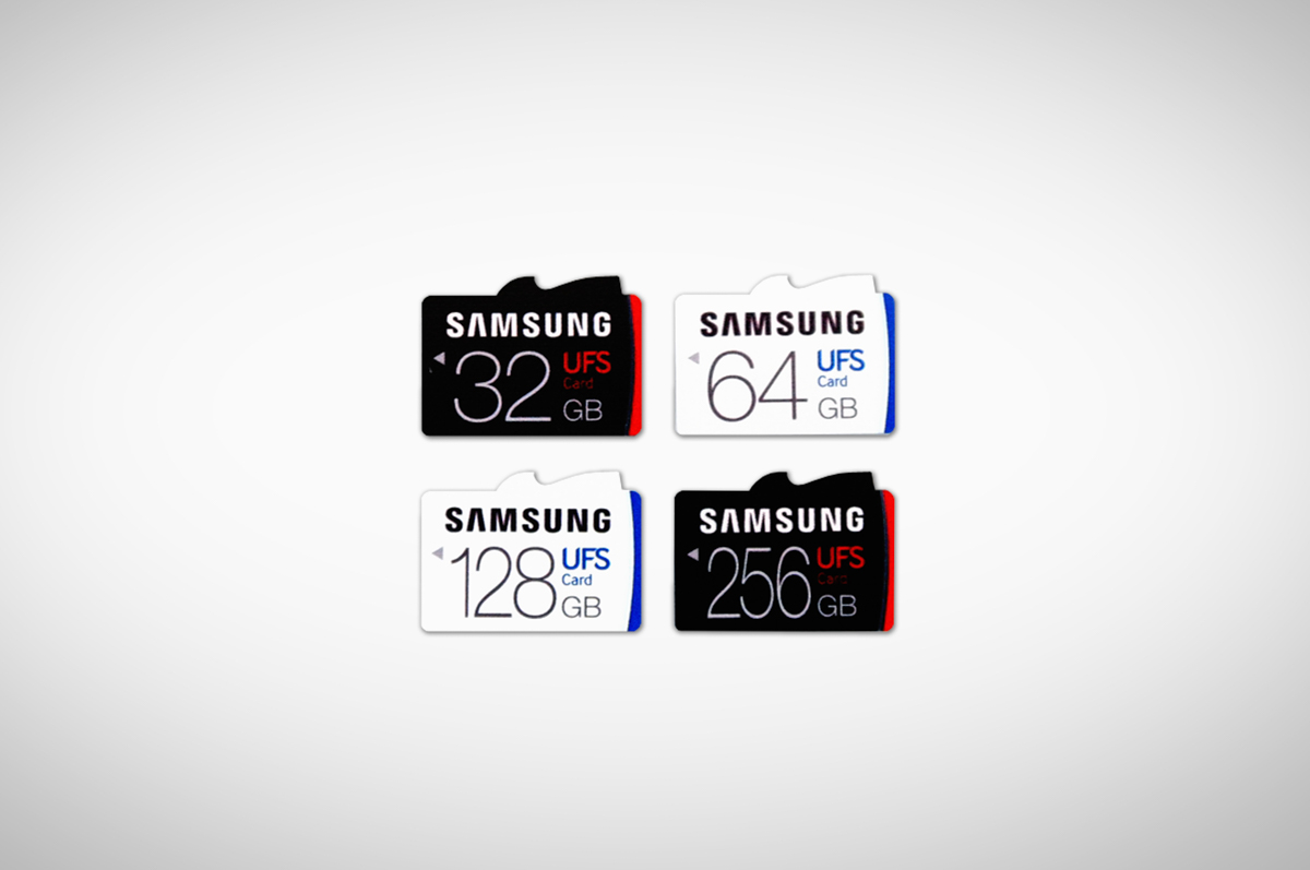 samsung stomps on the microsd card with ufs line of cards including 256gb option droid life. Black Bedroom Furniture Sets. Home Design Ideas