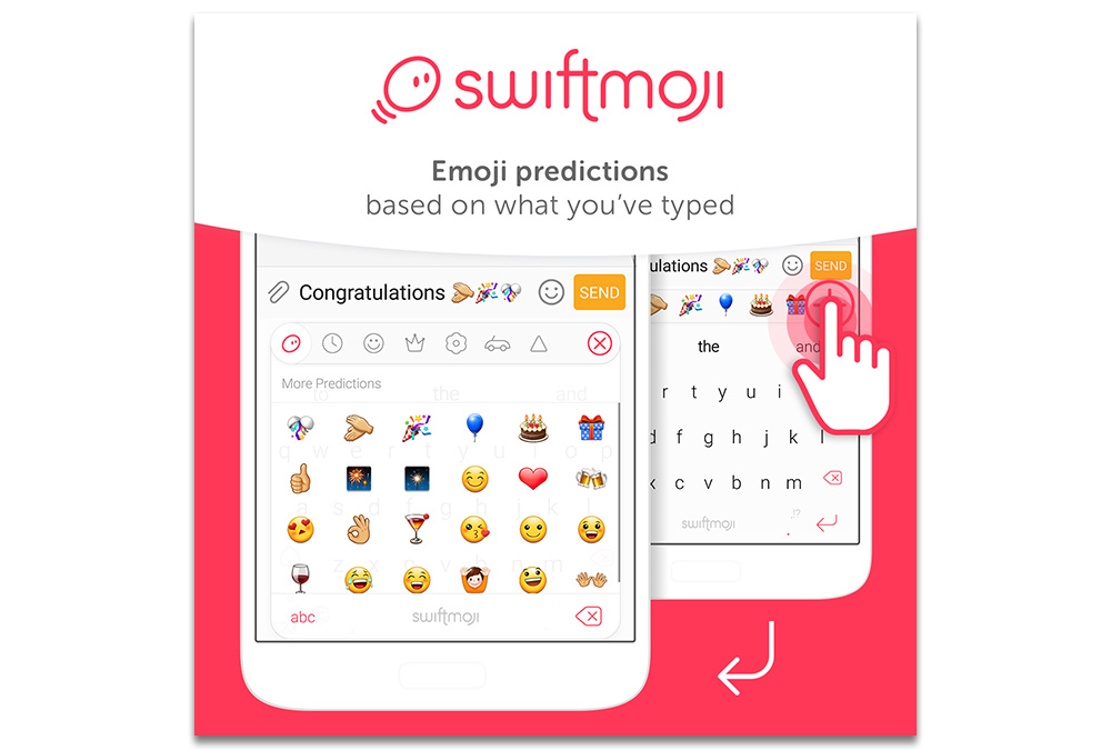 SwiftKey launches Swiftmoji Emoji Keyboard for iPhone and Android