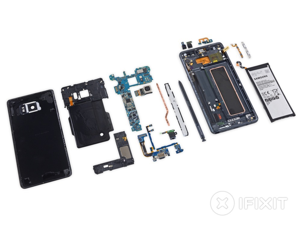 Galaxy Note 7 Teardown 5