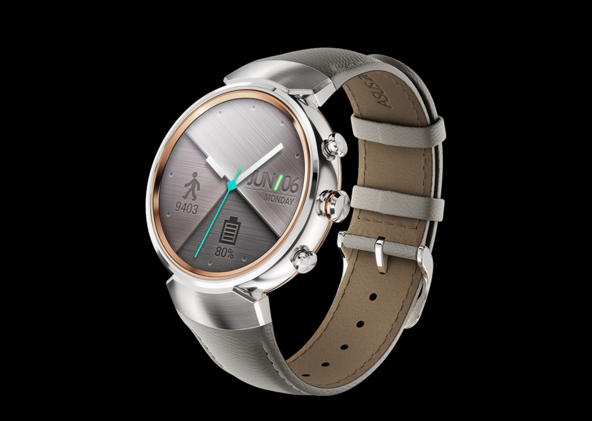 asus announces its round and luxurious zenwatch 3. Black Bedroom Furniture Sets. Home Design Ideas
