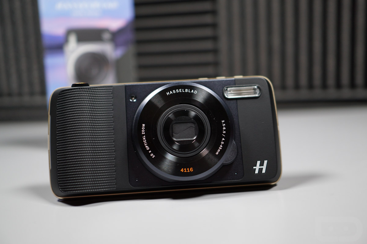 Motorola Announces Hasselblad Moto Mod for Moto Z Family ...
