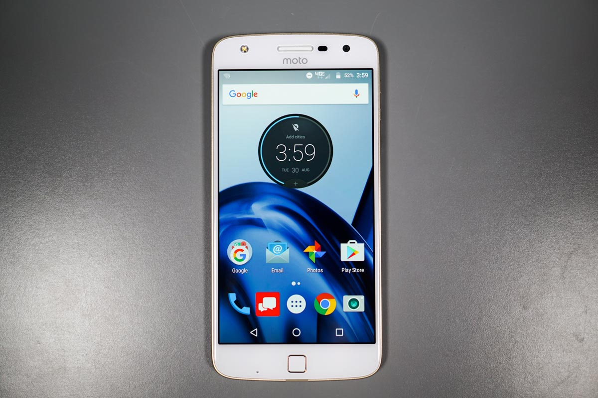 moto z play unboxing