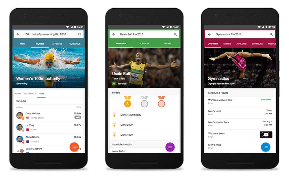 rio olympics android