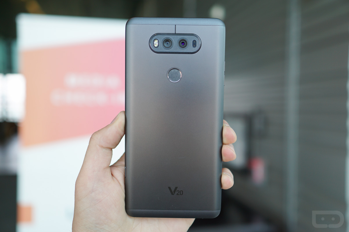 LG V20 first look
