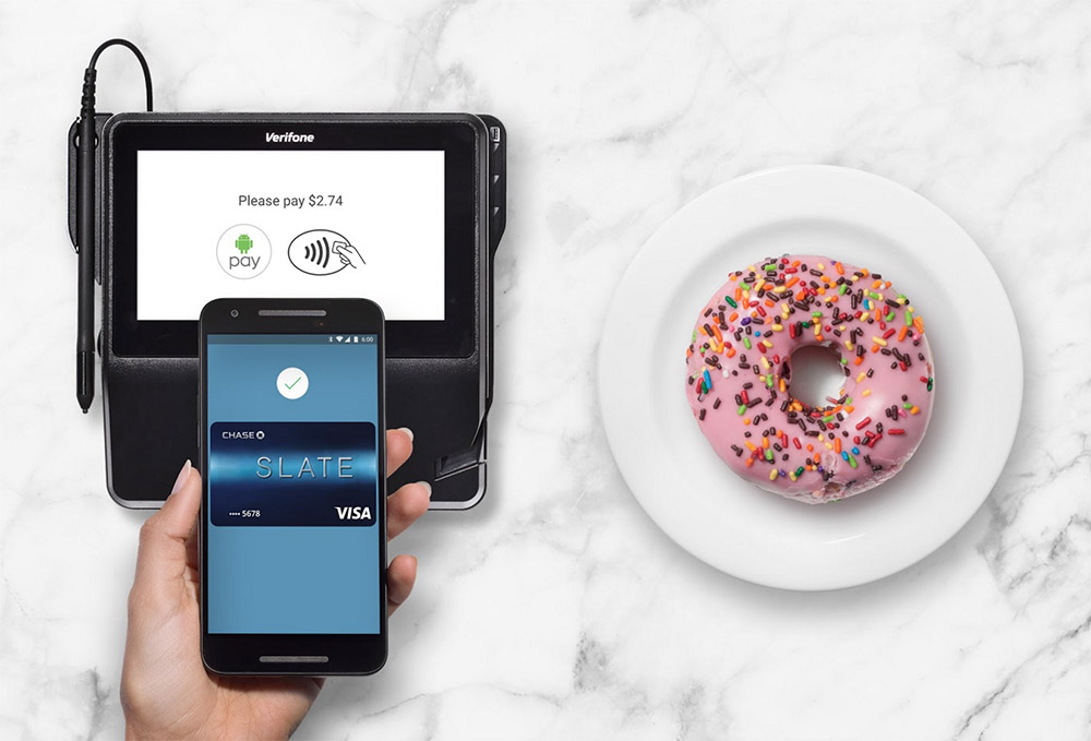 android pay chase bank