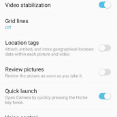galaxy note 7 camera ui