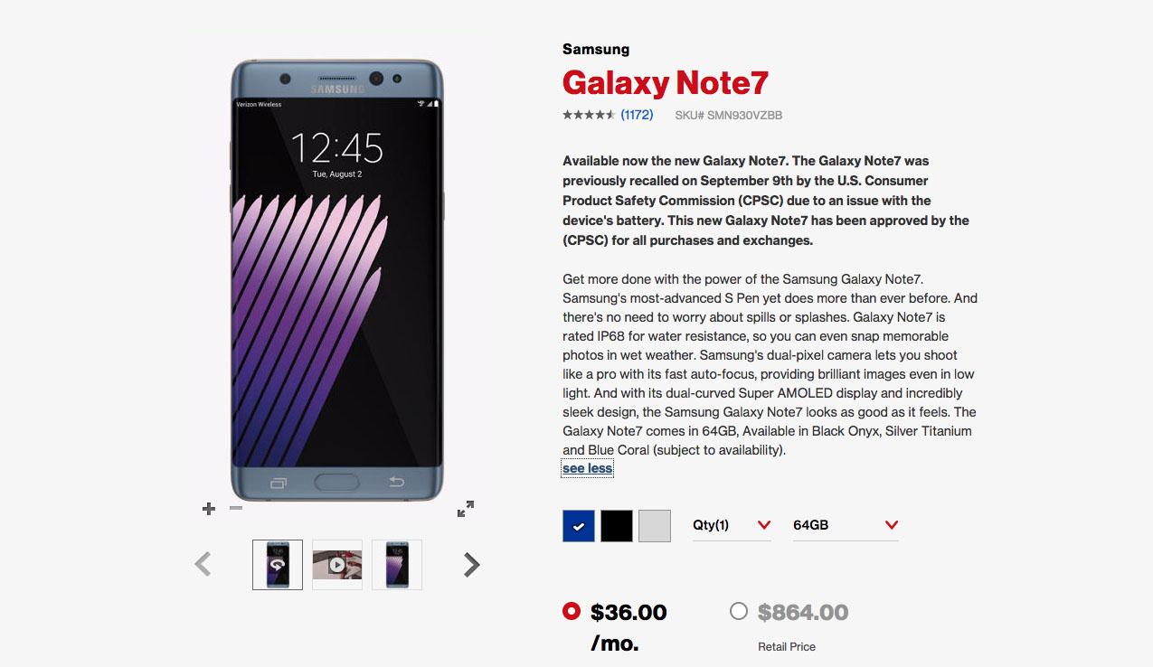 verizon-galaxy-note-7-price