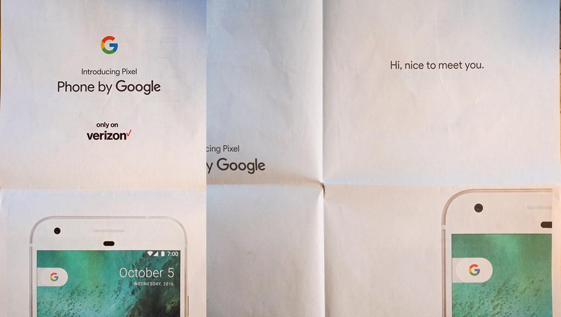 google pixel ad