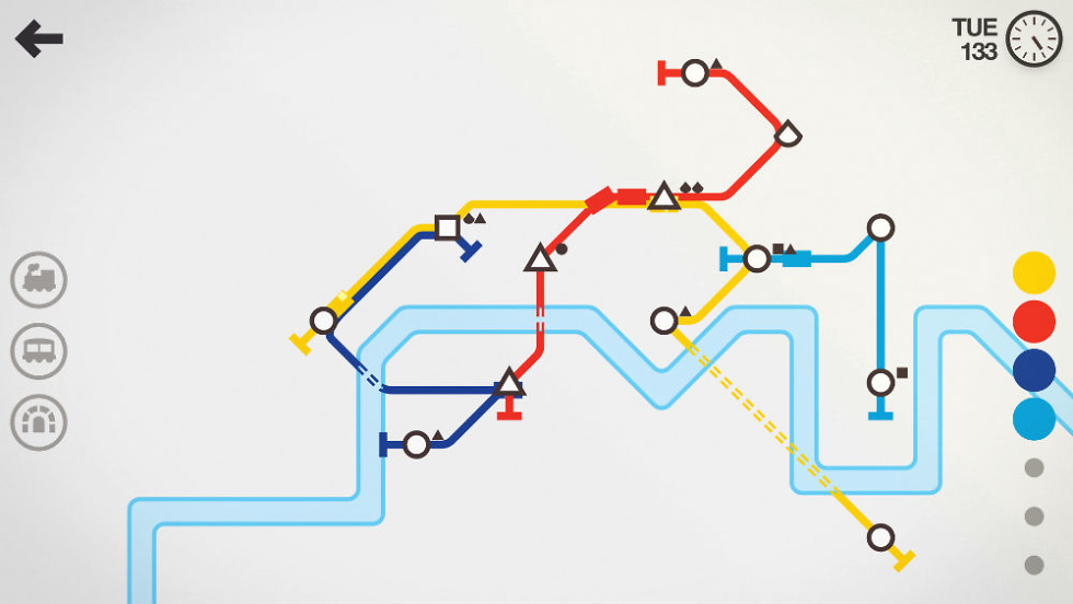 Build Your Own Subway Map.Mini Metro Build Subway Systems In Real World Locations Droid Life