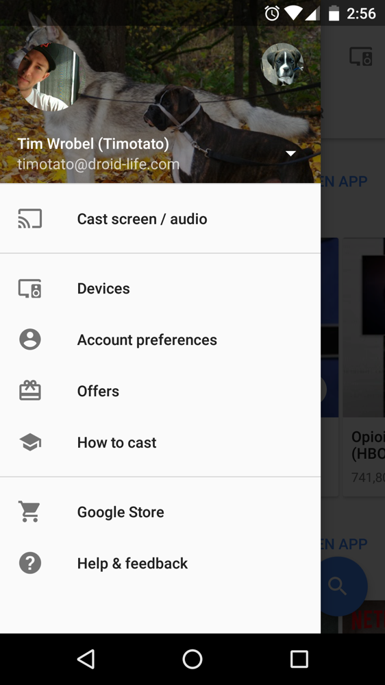 google cast how to use