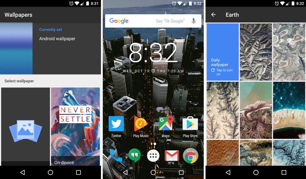 Google's Wallpapers App Now Available on Google Play for All