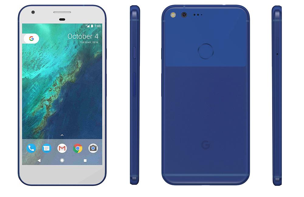 Google Pixel XL Blue Android 7 1 Smartphone 32GB Verizon GSM Unlocked ...