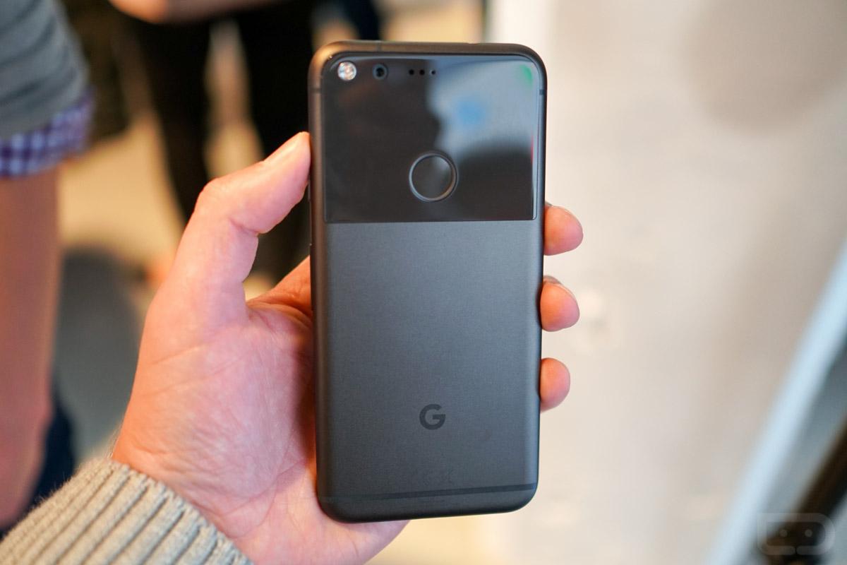 pixel phone black