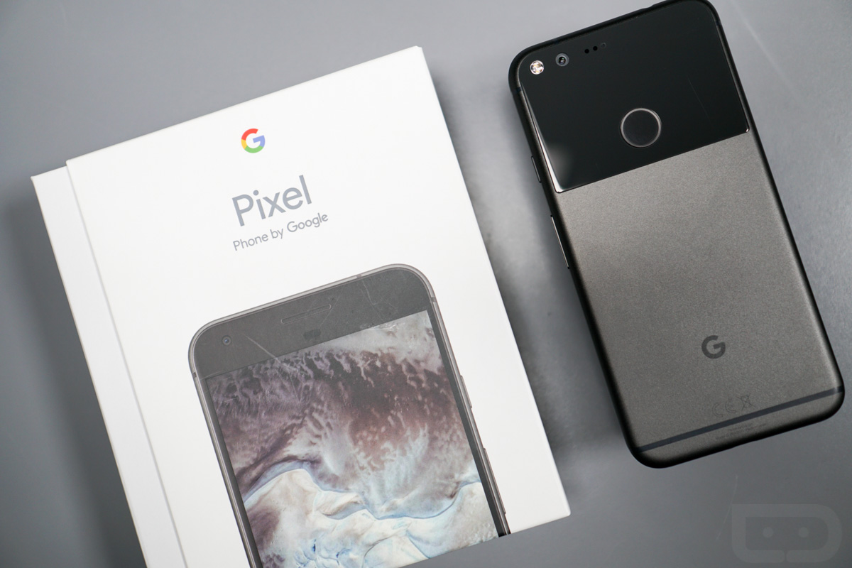 pixel unboxing