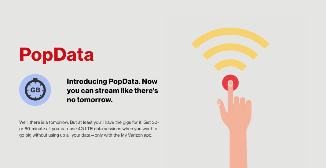 verizon popdata