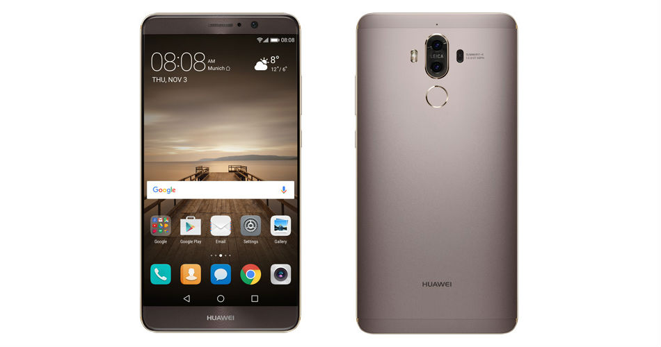 Huawei Mate 9 Unveiled, 5 9″ Display and 4,000mAh Battery