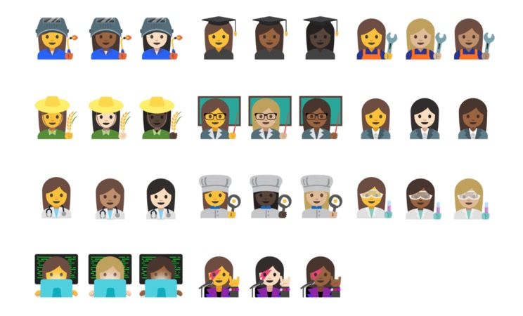 android 7.1.1 professional emoji
