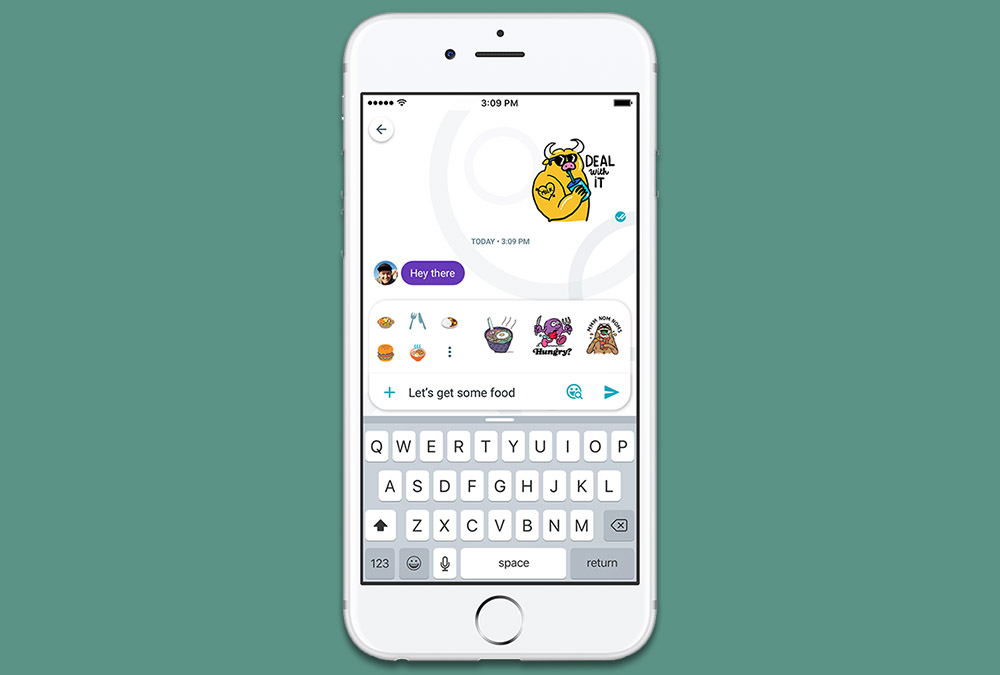 Google Allo helps you find the flawless emoji or sticker