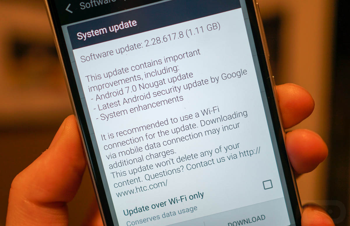 Android 7.0 Rolling Out For Unlocked HTC 10