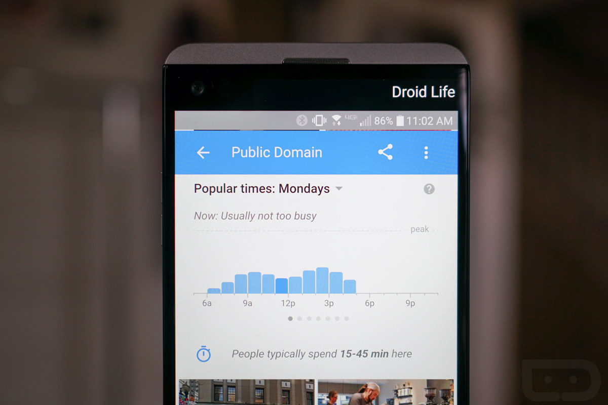 Google's 'Popular Times' Feature Updated With Real-Time Data