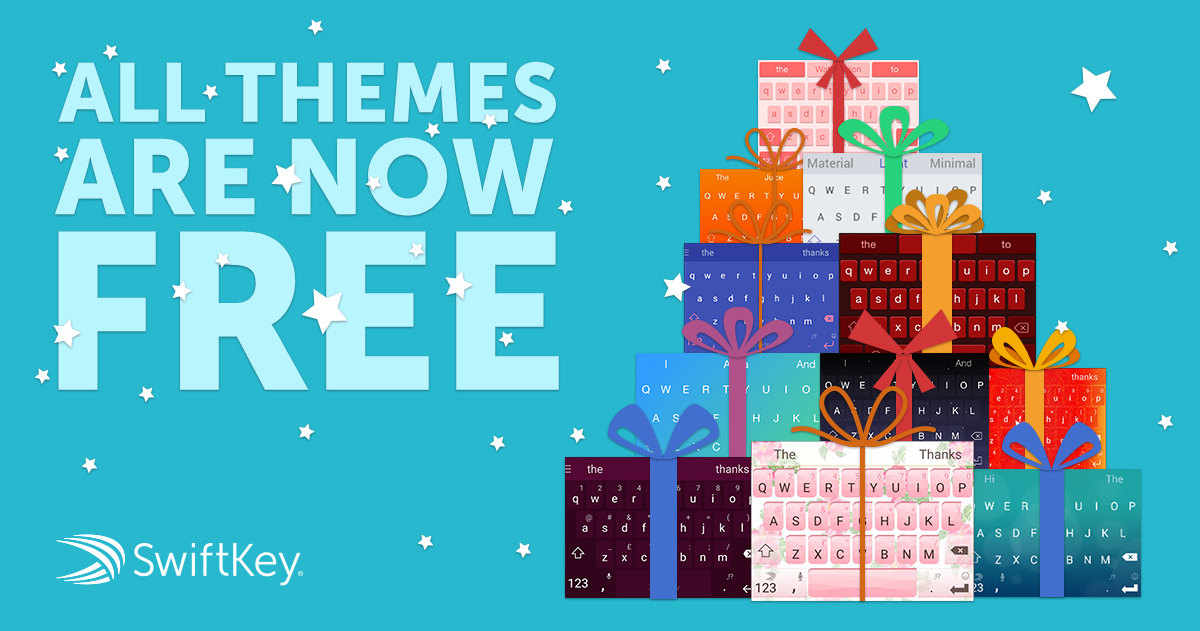 swiftkey themes free