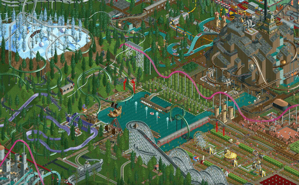 First two RollerCoaster Tycoon games arrive on Android, iOS