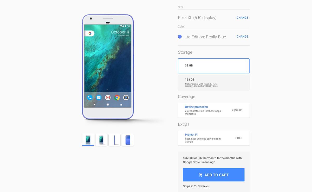 pixel xl deals google store
