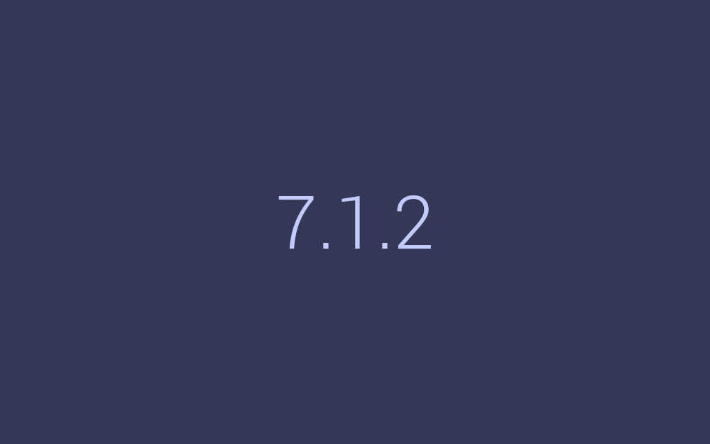 android 7.1.2