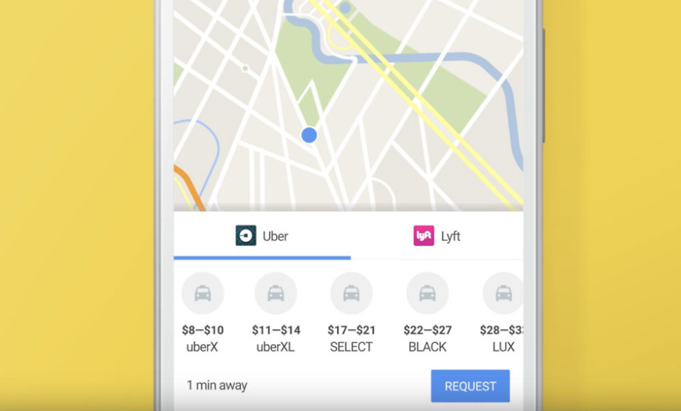 Lyft Price Quote Pleasing Google Maps Streamlines Uber Lyft Ordering Through App  Droid Life