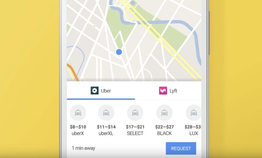 Google Maps Streamlines Uber Lyft Ordering Through App Droid Life