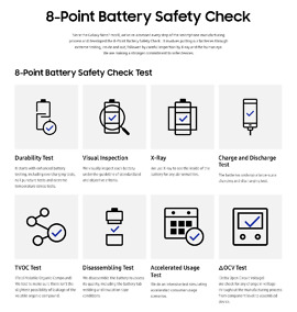 galaxy note 7 8-point battery safety check