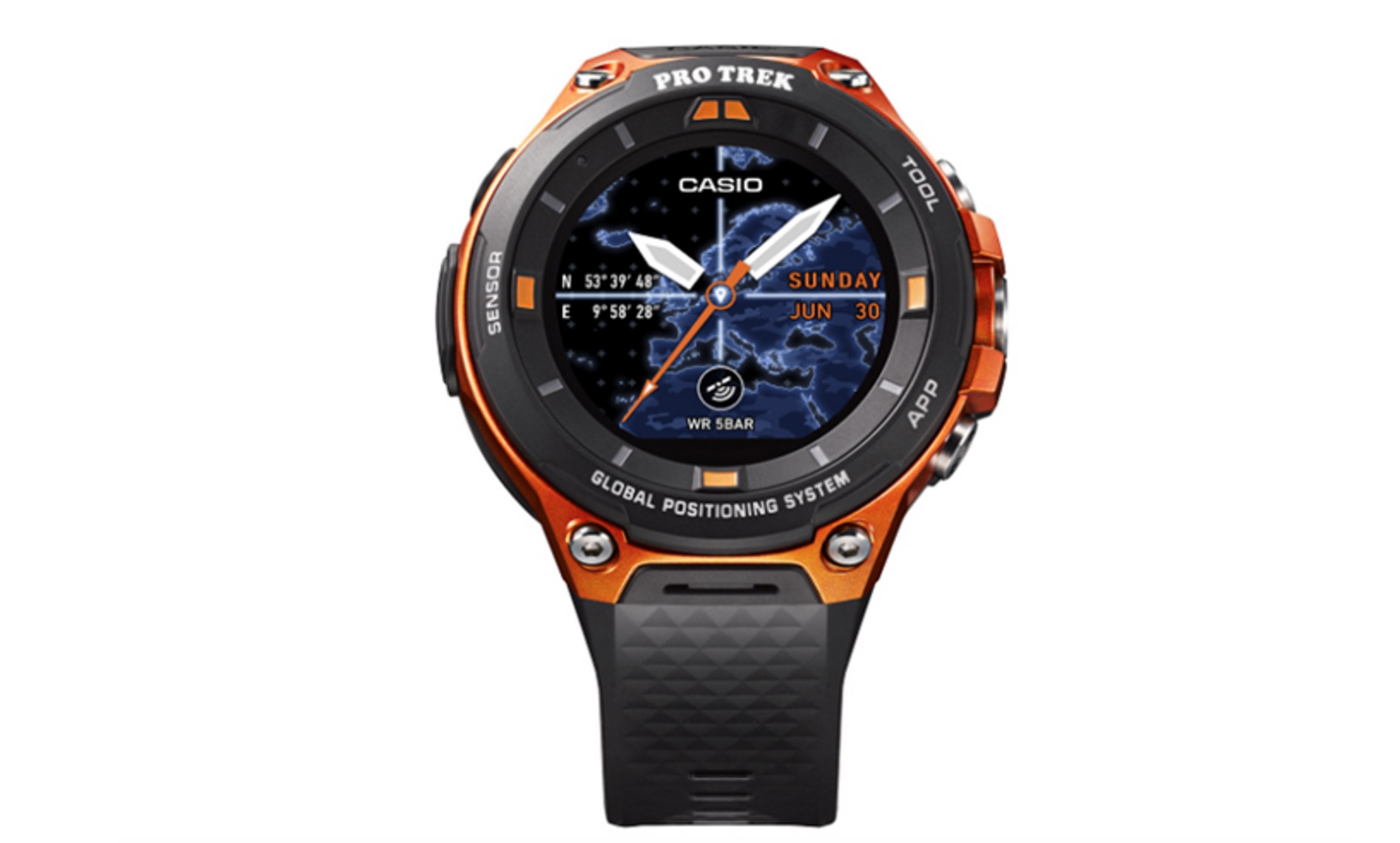 Casio has a new rugged smartwatch with Global Positioning System and Android Wear 2.0