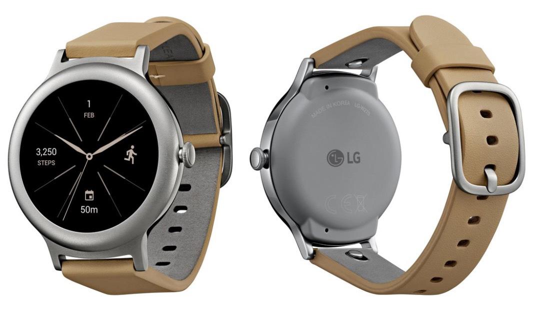 google lg watch style
