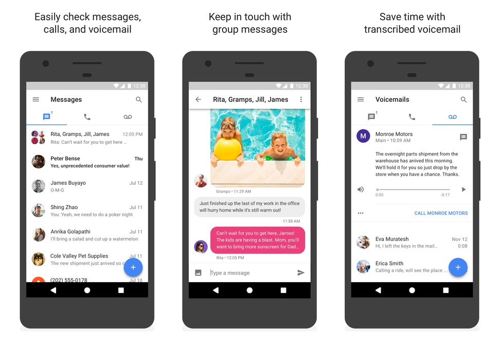 new google voice android
