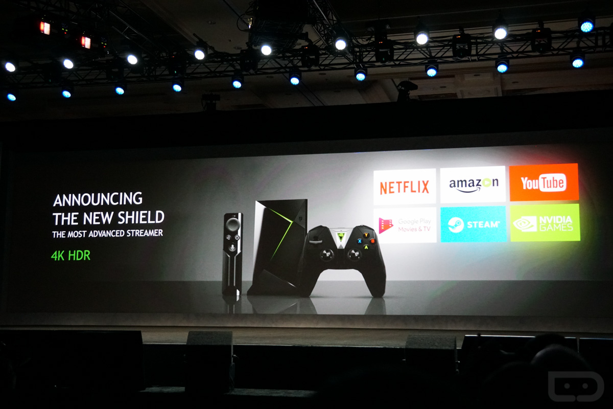 how to open nvidia shield tv