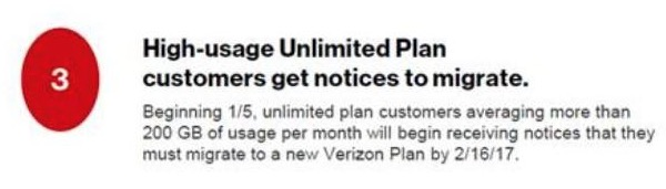 verizon unlimited data 200gb
