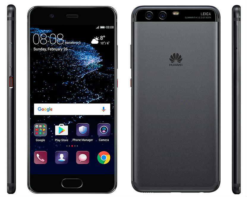 Here S The Huawei P10 In Black Droid Life