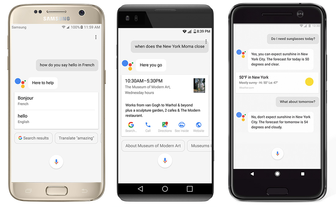 google assistant all android