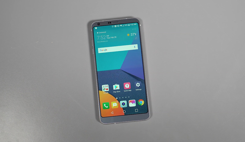 lg g6 first 10 things